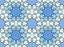 wektor bezszwowy wzoru Kolorowy etniczny ornament Arabesku styl islamska sztuki Fotografia Royalty Free