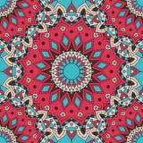 wektor bezszwowy wzoru krajowy dekoracyjny element dla tkaniny ot projekta Islam, język arabski, indianin, ottoman motywy royalty ilustracja