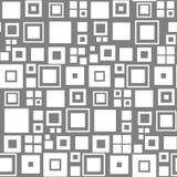 wektor bezszwowy wzoru kwadraty Biały i szary tło ilustracji