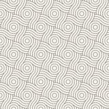 wektor bezszwowy wzoru Nowożytna elegancka abstrakcjonistyczna tekstura Wielostrzałowe geometryczne płytki Zdjęcie Stock