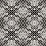 wektor bezszwowy wzoru Nowożytna elegancka abstrakcjonistyczna tekstura Wielostrzałowe geometryczne płytki zdjęcia royalty free