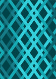 wektor bezszwowy wzoru nowożytna elegancka tekstura Wielostrzałowe geometryczne płytki Zdjęcia Royalty Free