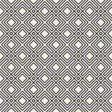 wektor bezszwowy wzoru nowożytna elegancka tekstura Wielostrzałowy geometryczny tło Pasiasta kratownica Liniowy graficzny projekt zdjęcie stock