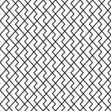 wektor bezszwowy wzoru nowożytna elegancka tekstura Geometryczny ornament z pasiastymi rhombuses Fotografia Royalty Free