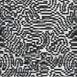 wektor bezszwowy wzoru Ogólnoludzki wielostrzałowy geometryczny abstrakt royalty ilustracja