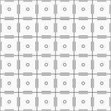 wektor bezszwowy wzoru Regularnie powtarzać geometrycznego płytka dowcip ilustracja wektor