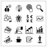 Wektor biznesowe ikony ustawiać Obraz Royalty Free