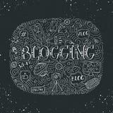 Wektor blogging ilustracja ilustracji