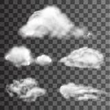 Wektor chmura Zdjęcia Stock