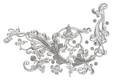 wektor dekoracji Zdjęcia Royalty Free
