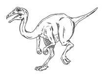 Wektor - dinosaur Obrazy Royalty Free