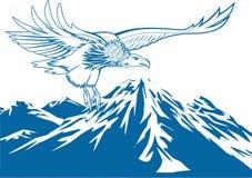 Wektor - Eagle latanie ilustracji