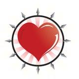 wektor emo logo Zdjęcie Stock