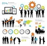 Wektor Globalne komunikacje biznesowe royalty ilustracja