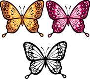 wektor ilustracyjny motyla Fotografia Stock