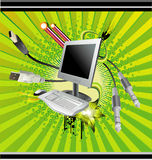 wektor komputerowy Zdjęcia Stock