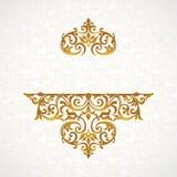 Wektor koronki wzór w wiktoriański stylu Zdjęcie Stock