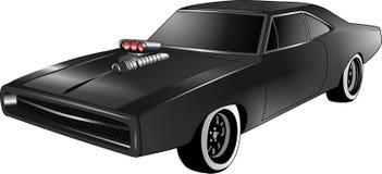 Wektor - kreskówki sztuczki samochodowa ładowarka ilustracji