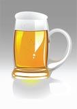 wektor kubek piwa Zdjęcia Stock