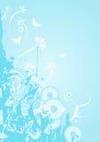 wektor kwiecisty projektu royalty ilustracja