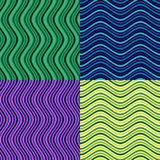 Wektor macha w różnych kolorach Układający z pewnego rytmu Bezszwowym wzorem Obrazy Stock