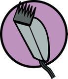 wektor maszyn szczypce włosy Obraz Stock