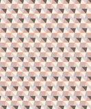 Wektor menchie i siwieją brzmienie trójboka geometrycznego bezszwowego wzór ilustracja wektor