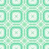 Wektor mennicy zieleni art deco geometryczny wzór Zdjęcia Stock