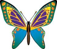 wektor motyla Zdjęcia Royalty Free