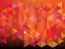 Wektor multicolor mozaiki tło Zdjęcia Royalty Free