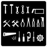 wektor narzędziami ikony Zdjęcie Stock