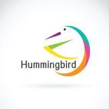 Wektor nucić ptasiego projekt na białym tle, logo Zdjęcia Royalty Free