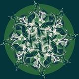 wektor ornamentu wektor abstrakcyjny tło Obraz Stock