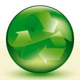 wektor recyklingu royalty ilustracja