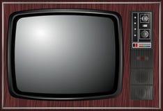 Wektor - Retro tv, ilustracja Zdjęcie Stock