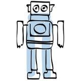 wektor robotów eps plików Obraz Stock