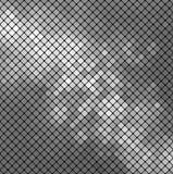 Wektor srebna mozaika Zdjęcia Stock