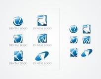 WEKTOR: STOMATOLOGICZNY BIUROWY loga projekt Obrazy Royalty Free