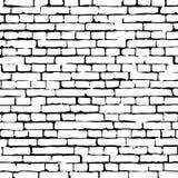 Wektorowa ściana z cegieł tekstury ilustracja, brickwall wzór ilustracji
