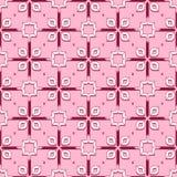 Wektorowa Abstrakcjonistyczna Bezszwowa Geometryczna Islamska tapeta Obrazy Stock