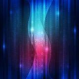 Wektorowa abstrakcjonistyczna cyfrowa przyszłościowa technologia, ilustracyjny tło Zdjęcia Royalty Free