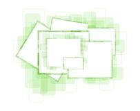 Wektorowa abstrakcjonistyczna fotografii rama Zdjęcia Stock