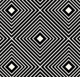 Wektorowa Abstrakcjonistyczna Plemienna Etniczna Deseniowa tło ilustracja Obrazy Royalty Free