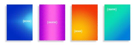 Wektorowa Abstrakcjonistyczna połówka - brzmień tła ilustracja wektor
