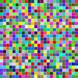 Wektorowa abstrakcjonistyczna projekt mozaika Zdjęcia Stock