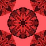 Wektorowa abstrakcjonistyczna tekstura i kolory Niekończący się tło ethnic ilustracja wektor