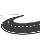 Wektorowa autostrada ilustracja wektor