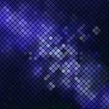 Wektorowa błękitna mozaika Zdjęcie Stock