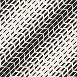 Wektorowa Bezszwowa opony Halftone przekątna Wykłada Geometrycznego wzór ilustracji