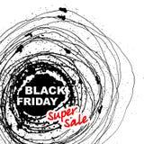 Wektorowa Black Friday sprzedaż royalty ilustracja